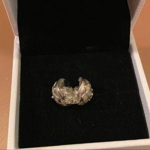 Brand New Pandora Blooming Dahlia Clip